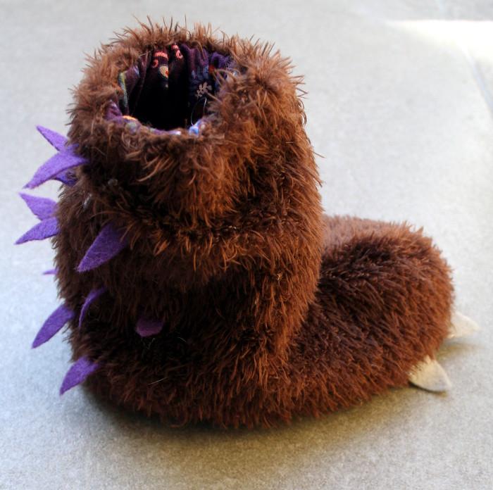 Gruffalo booties