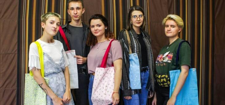 В Гродно шили экосумки. АБФ совместно с проектом «Торба Шоу» провели мастер-класс