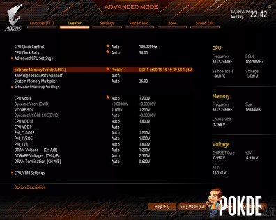 GIGABYTE X570 AORUS Master BIOS (2)