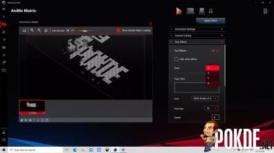 ROG Zephyrus G14 AniMe Matrix Custom Text Rows