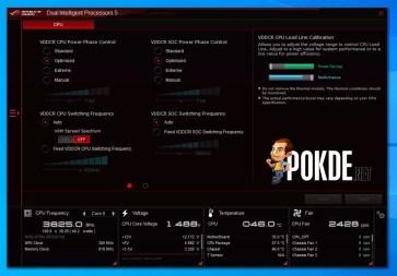 ROG Strix B550-E Gaming AI Suite Dual Intelligent Processor 5