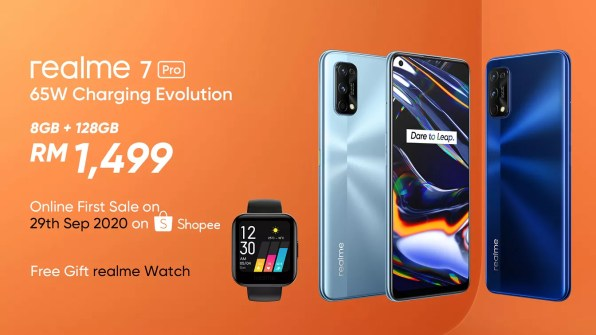realme 7 Pro first sale deal
