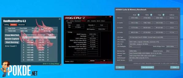 KLEVV BOLT XR Review DDR4 4100MHz overclock