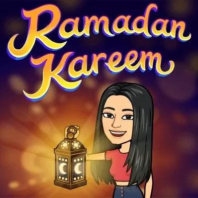 Snapchat Ramadhan Bitmoji 2