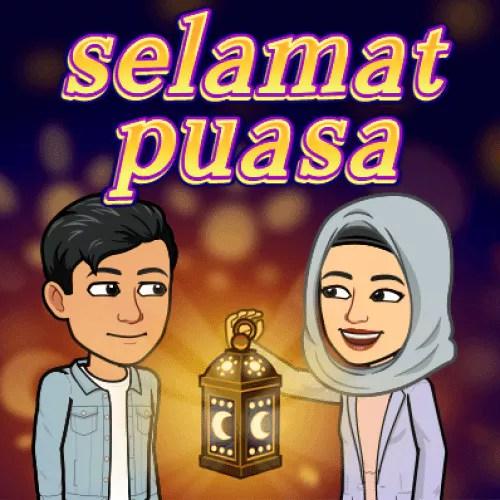 Snapchat Ramadhan Bitmoji