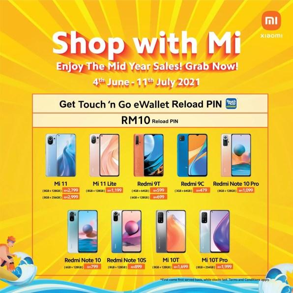Xiaomi 'Shop With Mi'