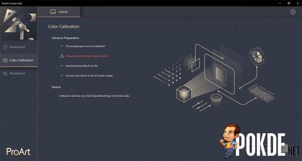 ASUS ZenBook Pro Duo 15 OLED review ProArt Creator Hub