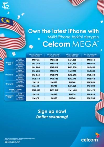 Celcom Merdeka Promo 3