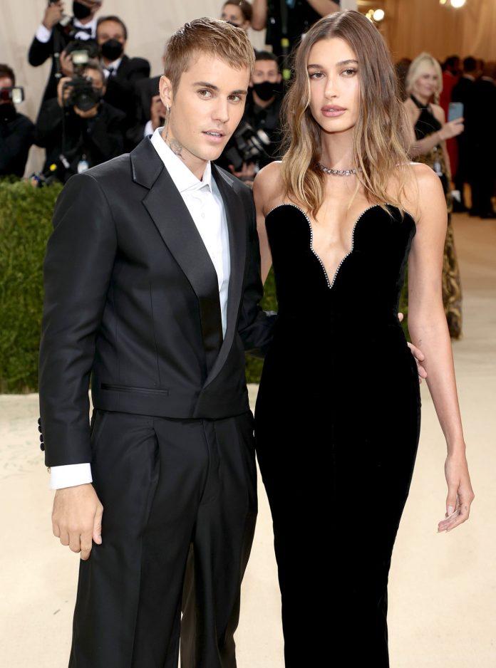 Justin Bieber e sua esposa