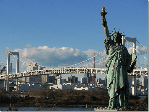Liberty Jepang odaida