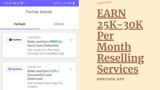 How To Earn 25K-30K Per Month With OneCode App