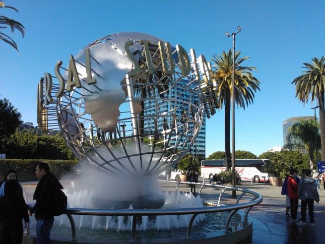 Universal Studios at Hollywood!