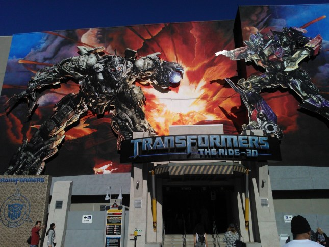 The Transformers Ride!