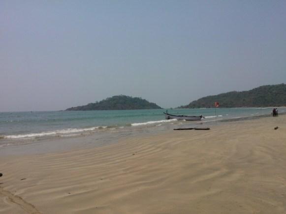 Palolem beach - serene and peaceful