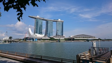Marina Bay Sands during day