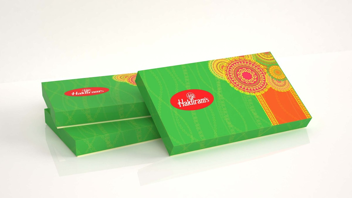 Creatvie Traditional Design for Haldiram Sweets box packaging |  Banglore | Mithai