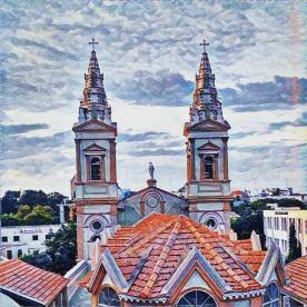 View from Catholic Club Bangalore