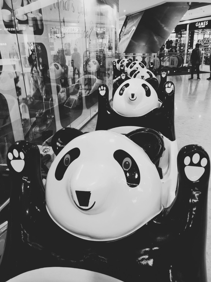 Hands up Panda!