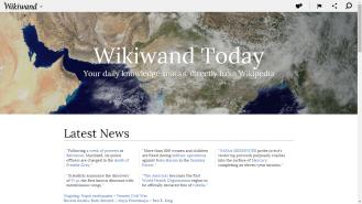 Wikiwand Start Page