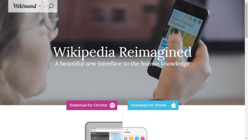 Wikiwand Home - Wikipedia Reimagined