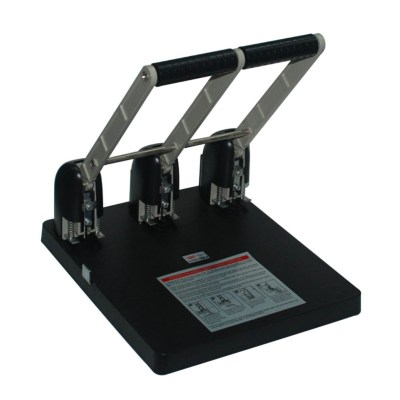 Punch Office Supply Punch capacity:150pages/80g,Hole distance :108 mm,Diameter :6 mm,Packing :~1/3,Measure :51.5x34.5x31 cm