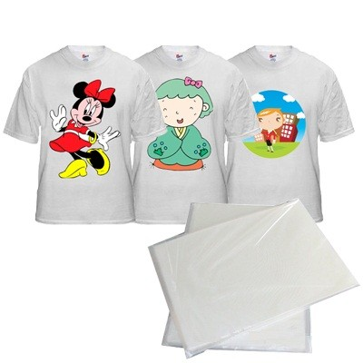 Sublimation Paper For T-Shirt(Velvet) in Hot Press Machine for use in office stationery products and supplies