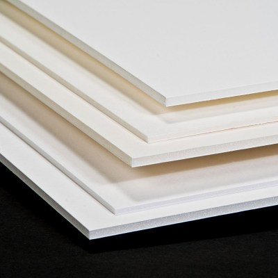 A3 300 MIC OPAQUE WHITE PVC CORE (GLOSSY/GLOSSY) in PVC CORE for use in PP PVC Sheets