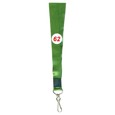 Military Green Colour Saturn Tags with Hook Attachement type. 16 Inches in Length and 12 mm wide. Printable with multiple colours with custom logo and names