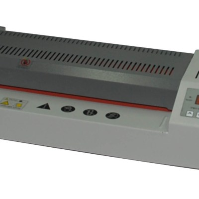 Laminator machine Office Supply Laminating Width :330 mm,Laminating Thickness :2 mm,Laminating Speed :Operating Temperature ,90-180:Quality of Roller ,4:Heating Method ,Mica sheet Heating:Power Supple(Optional), AC100/120/220/240V/50/60Hz :Power Consumpt
