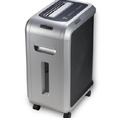 Paper shredder Office Supply Shred Capacity:12 sheets of A4 paper,Waste bin volume 34LShedder size :2x9 mm,Packing :~1/1,Measure :51.5x36x71 cm