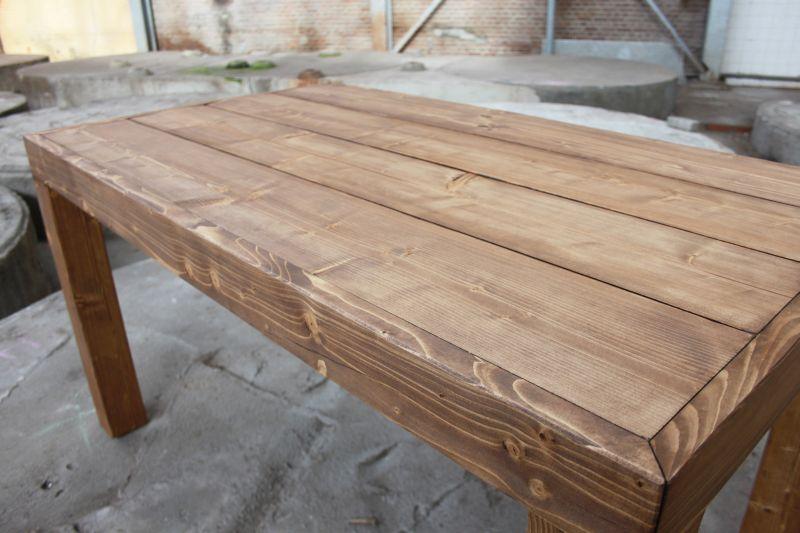 Eettafel tafel steigerhout