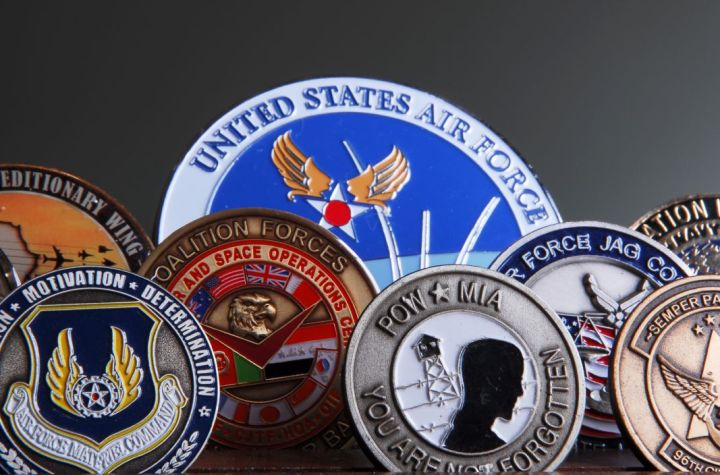 Military coins for sale