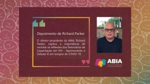 Seminários Aprimorando o Debate III - Depoimento Richard Parker