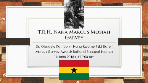 Nana Marcus Garvey and Afrikan=Black Identity