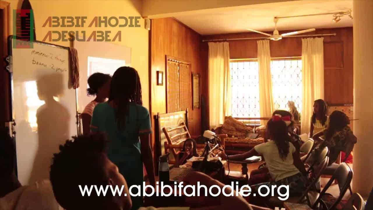 Abibifahodie Adesuabea - Afrikan Liberation School Twi Class 10 10 2017