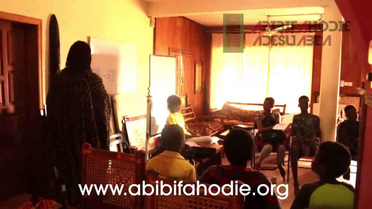 Abibifahodie Adesuabea - Afrikan Liberation School Twi Class 22 9 2017