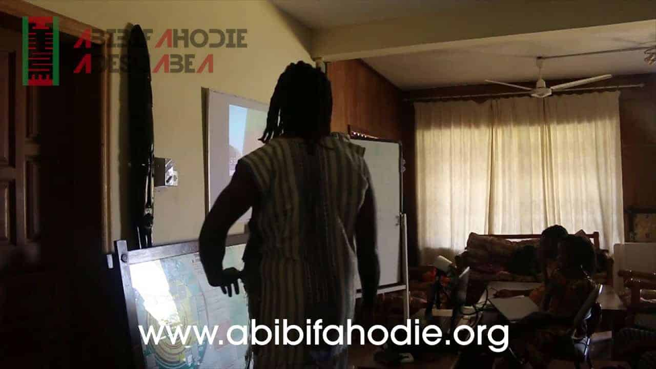 Abibifahodie Adesuabea - Afrikan Liberation School Twi Class 3 10 2017