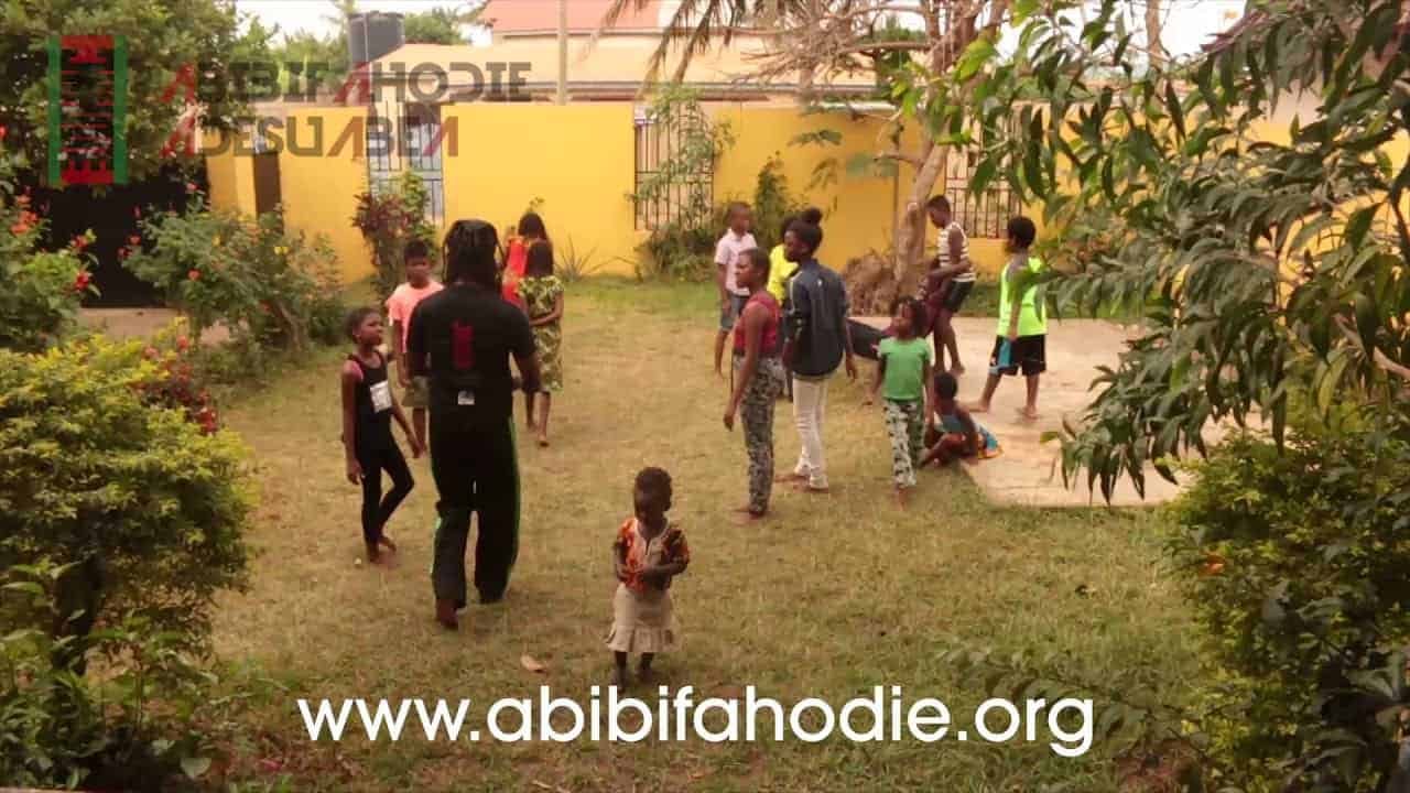 Abibifahodie Adesuabea Asako (Children's Capoeira Class) 29 9 2017