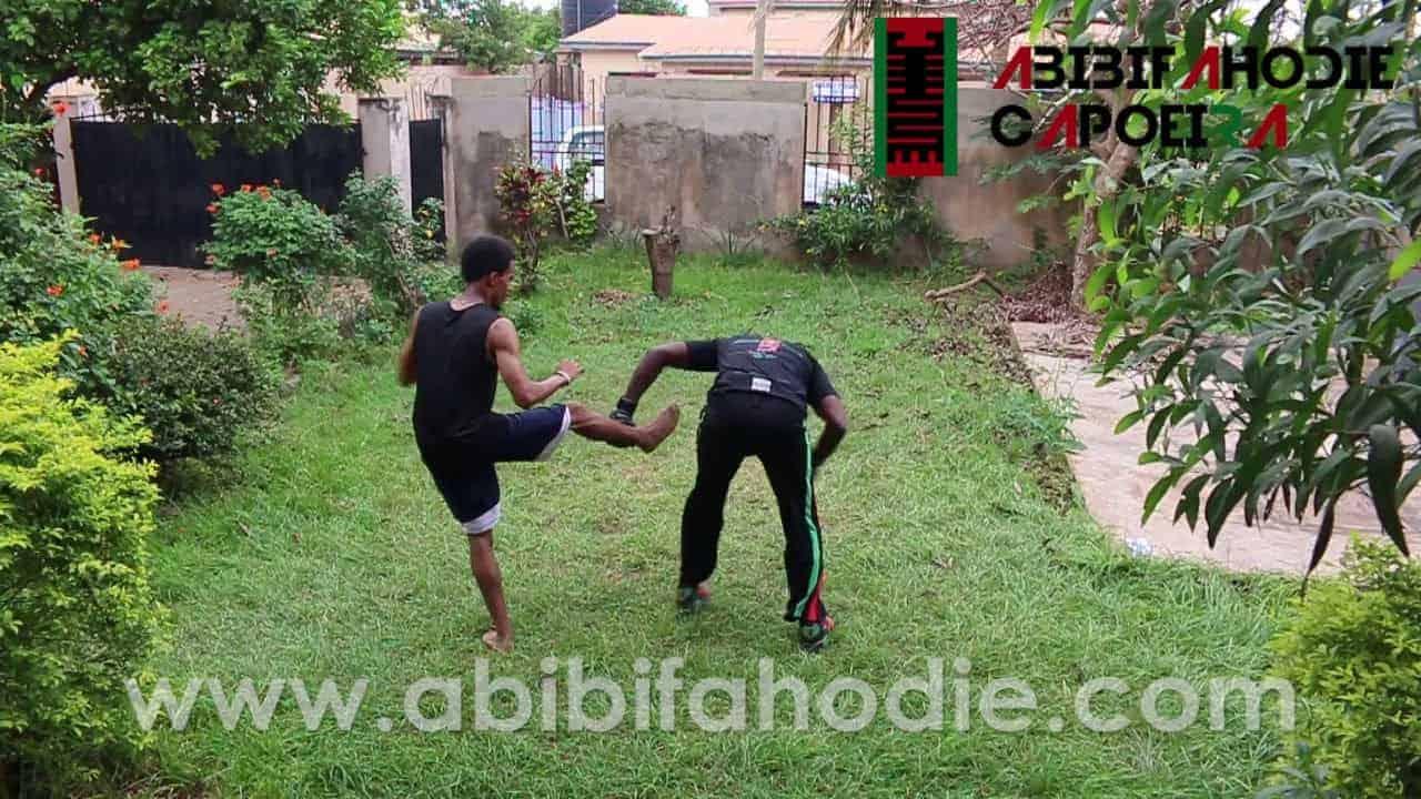 Abibifahodie Asako (Afrikan Combat Capoeira light sparring session + discussion)
