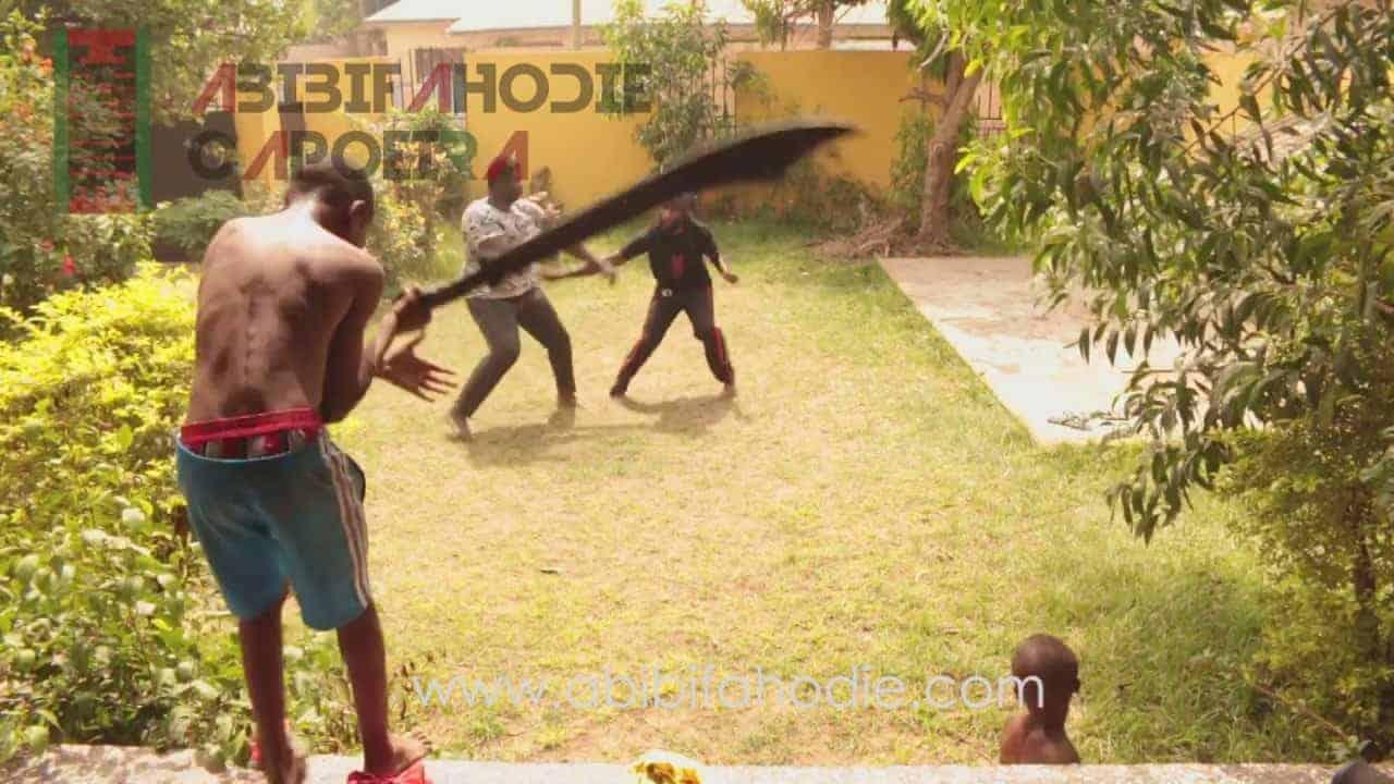 Asako (Afrikan=Black Combat Capoeira) Light Sparring