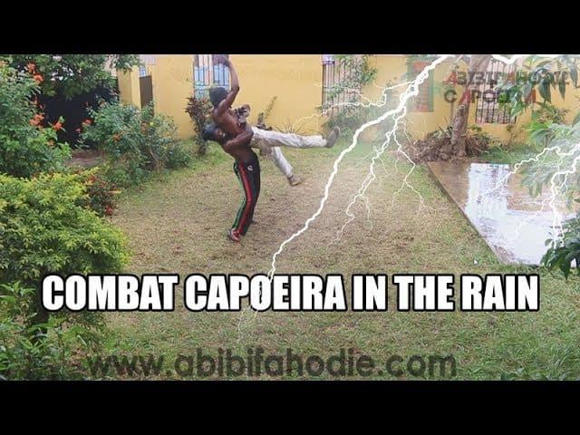 Combat Capoeira in the Rain