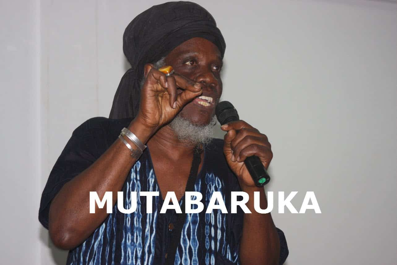Mutabaruka: The Greatest Love of All is Self-Love Lecture at IAS