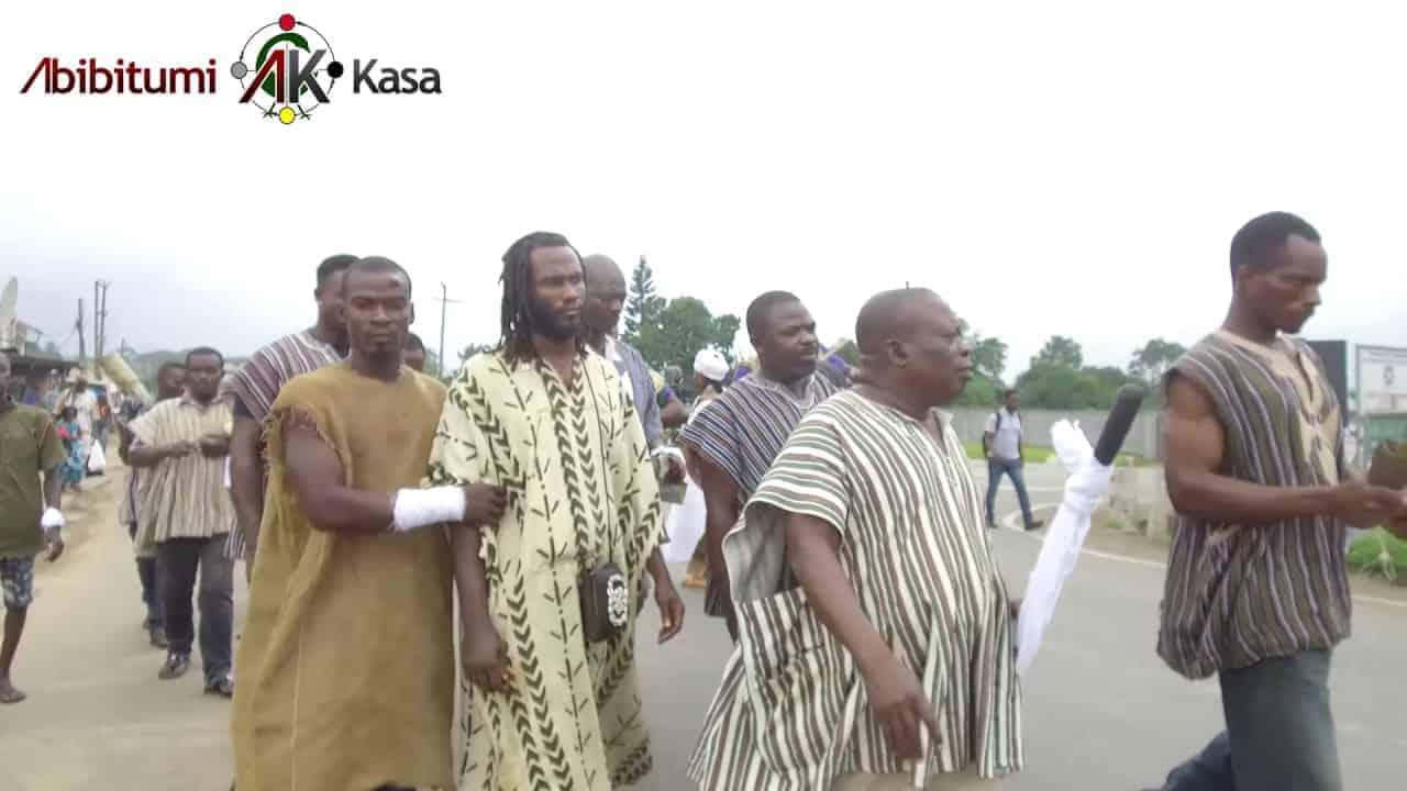 Dr. Ọbádélé Kambon's Enstoolment Banmuhene Kyidɔmhene - Akuapem Mampɔn (Uncut - Multiple Angles)