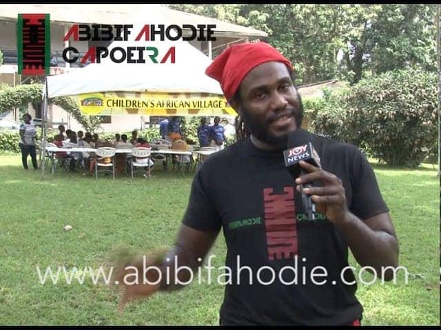 Dr. Kambon's JoyTV Interview on Asako (Afrikan Combat Capoeira) [Twi + English]
