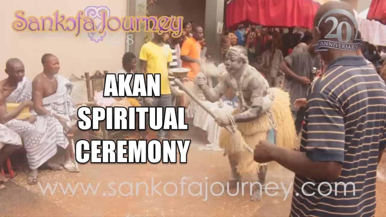 [UNCUT] Sankɔfa Journey 2017 Akan Spiritual Ceremony/Ritual (Akɔm)