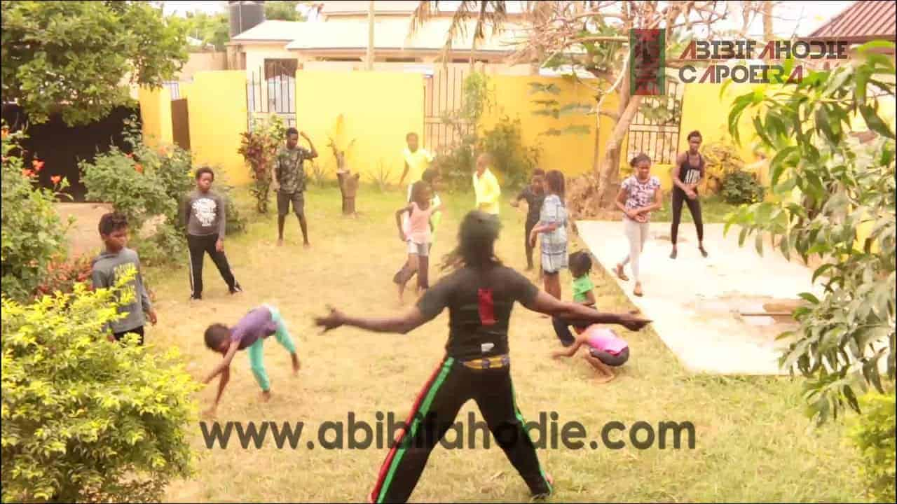 Warmup Exercises and Capoeira Dodgeball (for children)