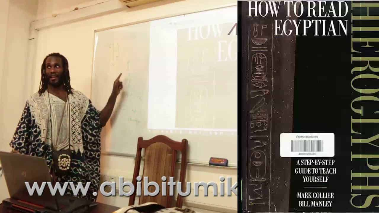 World's first Mdw Ntr Class Taught in Afrikan Languages (Twi & Wolof)!