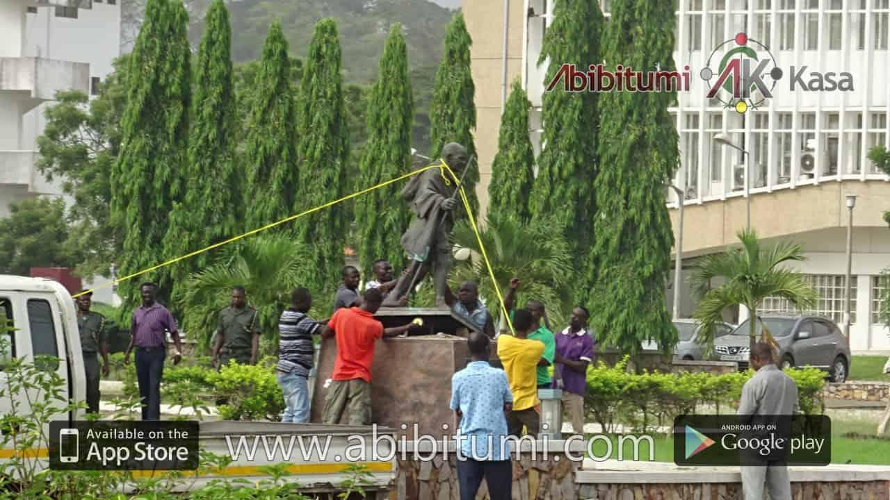 #gandhiHasFallen BBC Telephone Interview with Dr. Ọbádélé Kambon