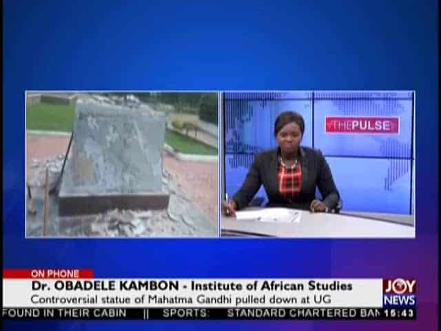 #GandhiHasFallen: Joy News Interview with Dr. Kambon