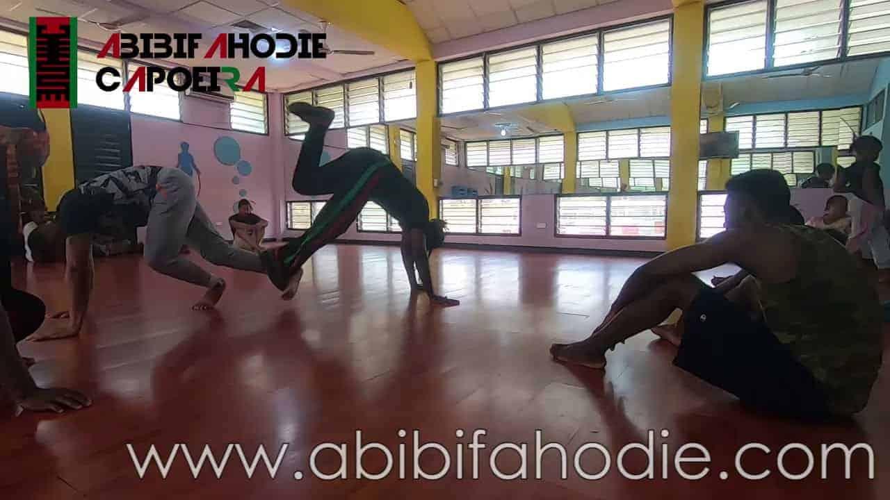 Abibifahodie Asako (Afrikan Combat Capoeira) Class at University of Ghana